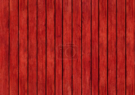 Photo for Red wood panels design texture surface background - Royalty Free Image