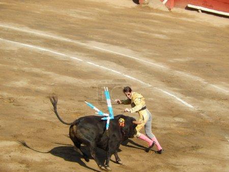 PERU - NOV 2013: Spanish torero Juan Jose Padilla