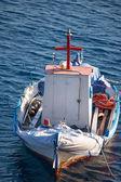 Little fisher boat in Greece