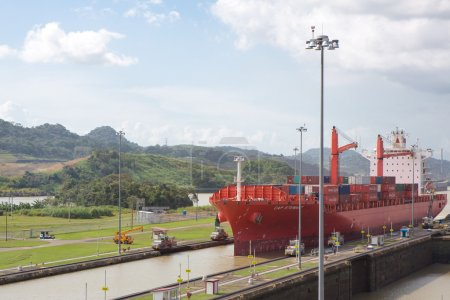 Red Cap Stewart container ship