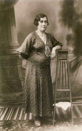 vintage photo portrait