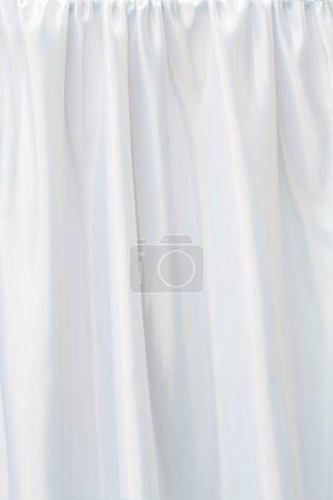 Photo pour Tissu de mariage blanc plié sur la lumière du jour - image libre de droit