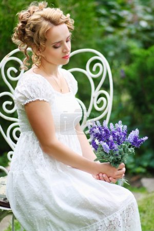 beautiful romanitic woman