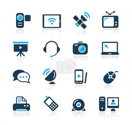Communication Icons // Azure Series