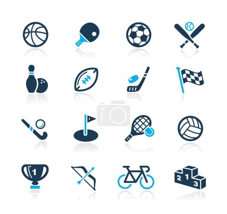 Sports Icons // Azure Series