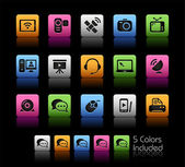Communication Icons // Color Box