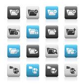 Folder Icons - 1 // Matte Series