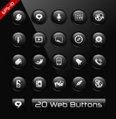 Social Network Icons -- Black Label Series