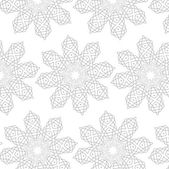 Ornamental light abstract background grey