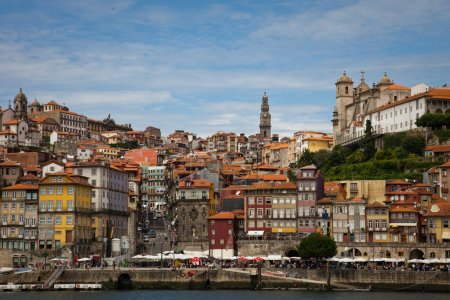 View of Porto and Douro river, Portugal
