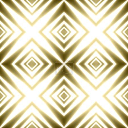 Golden crosses striped festive shining background