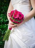 fleurs de tenue de la mariée