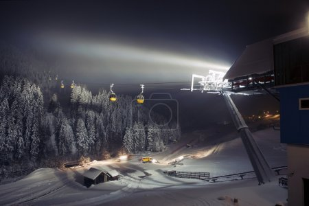 Ski lifts (gondolas)
