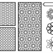 Traditional Middle Eastern Islamic Patterns - Vect...