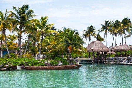 Scenic View of a Mayan Riviera Jetty
