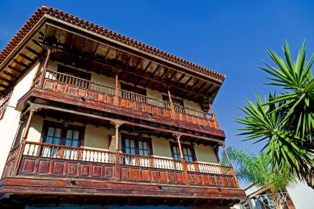 Photo for Traditional Canarian Architecture in Puerto de la Cruz, Tenerife - Royalty Free Image