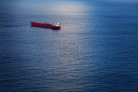 Chemical Tanker in the Atlantic Ocean