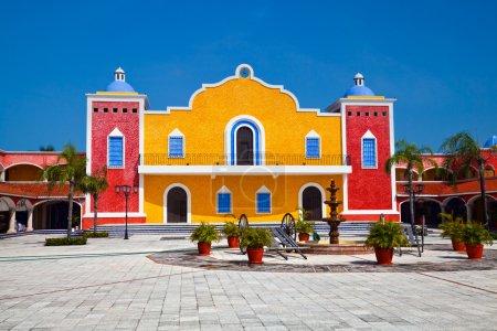 Mexican Hacienda in the Mayan Riviera, Mexico...