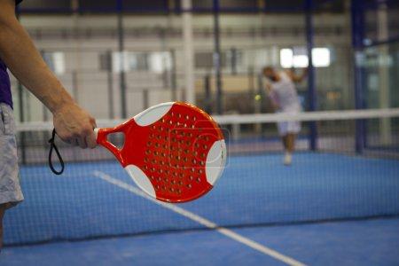 Playing Padel Tennis