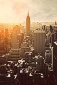 Západ slunce v Manhattanu