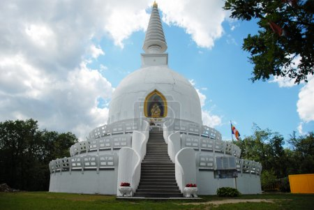 Photo for A largest stupa from Europa is in Hungary - Royalty Free Image