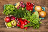 Markt Obst und Gemüse