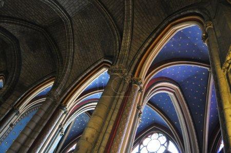 The arches of Notre-Dame de Paris