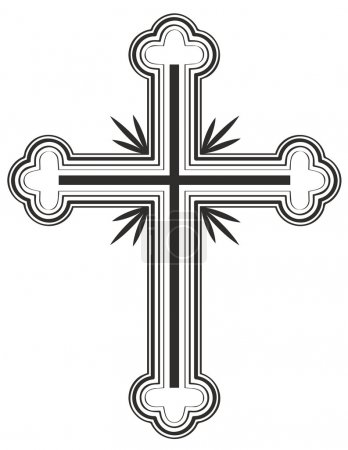 Traditional Armenian Apostolic Church cross clip art