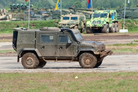 Rys armored vehicle