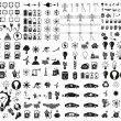Energy and resource icon set. Vector illustration...