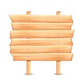 Dřevěné dopravní značka