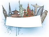 Travel to the wonders of the world banner