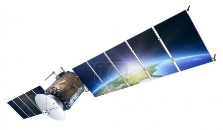 Satellite communications with earth reflecting in ...