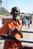 Somálci v ulicích města hargeysa