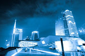 Guangzhou city night landscape