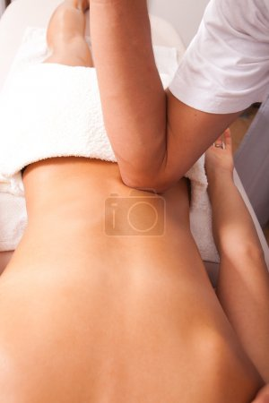 Acupressure back massage