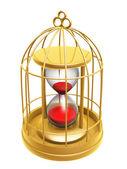 Zlatá klec a přesýpací hodiny