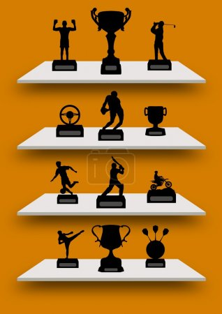 Trophy Shelves