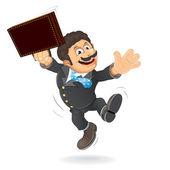 Happy Businessman Vector