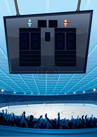 Ice Hockey Background