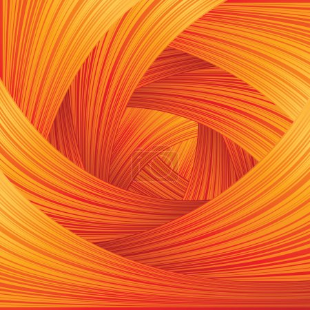 Illustration for Abstract Swirled Background - Royalty Free Image