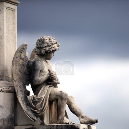 Engel auf dem Friedhof La Recoleta in Buenos aires