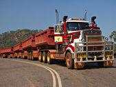 Road Train in Australia NT