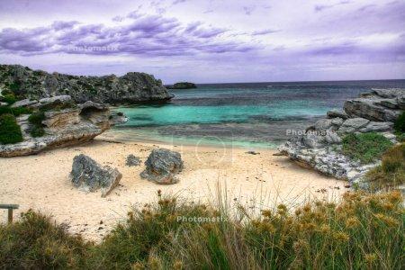Salmon Bay in Rottnest Island, Western Australia