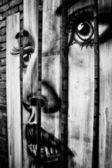 MELBOURNE - JUNE 29: Street art by unidentified artist. Melbourn