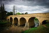 Old stone bridge in Richmond Tasmania - Oldest bridge in Australia