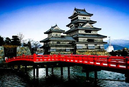 Photo pour Château de Matsumoto, Japon - image libre de droit