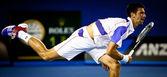 MELBOURNE - JANUARY 25: Novak Djokovic of Serbia in his quarter