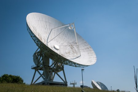 Antenna on the earth station Aflenz ,Styria,Austri...
