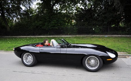 Modernized Jaguar E-Type